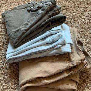Skinny jeans-3 pairs